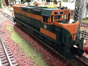 O scale GN SD 45