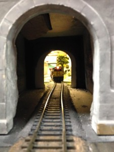 Approaching tunnel to Ore Dock Room