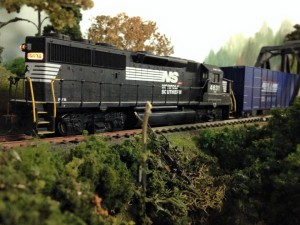 NS on branch line