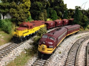 FRV and Soo motive power working ore line