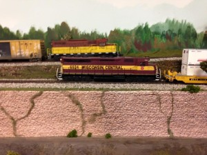 WC meets FRV RR on Mt Manske Hill and ore branch