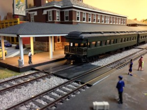 Now title town brewery, scratch built by Dennis