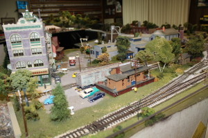 Appleton year with freight station, and DCC Sound in the candy factory,